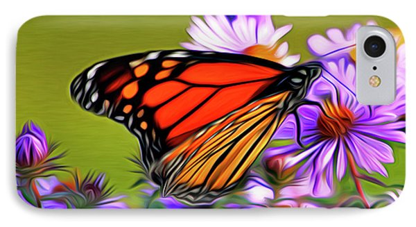 Painted Butterfly Phone Case by David Kehrli