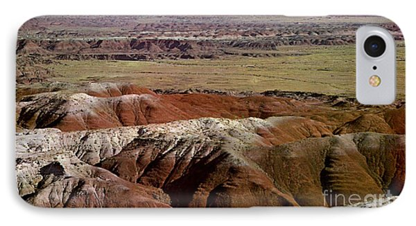 Painted Desert In Arizona Phone Case by Ruth  Housley