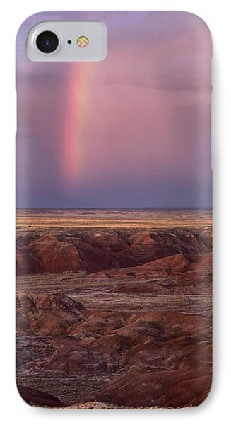 IPhone Case featuring the photograph Painted Desert Rainbow by Melany Sarafis