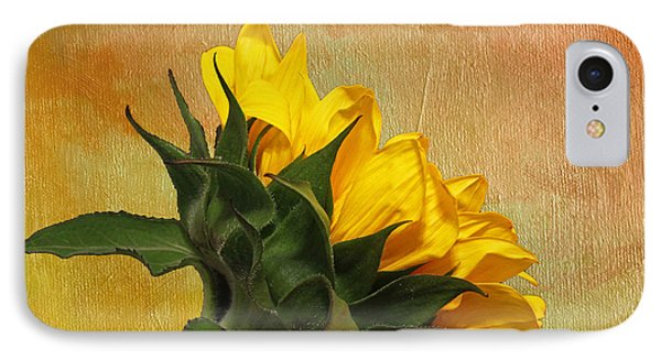 Painted Golden Beauty IPhone Case by Judy Vincent