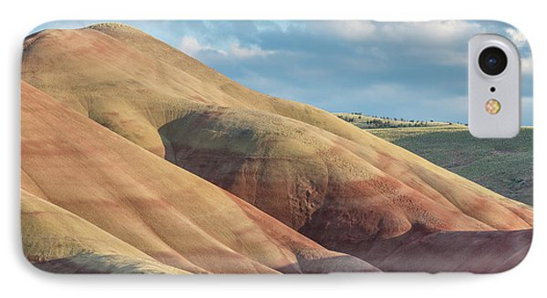 Painted Hill And Clouds IPhone Case by Greg Nyquist