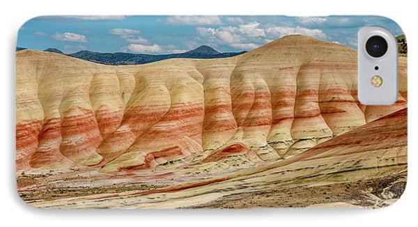 Painted Hills And Afternoon Sky IPhone Case by Greg Nyquist
