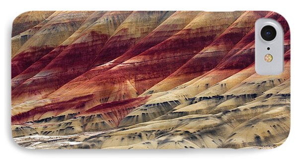 Painted Hills Contour Phone Case by Mike  Dawson