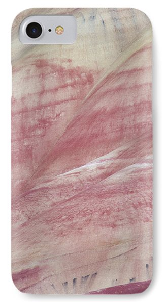 Painted Hills Textures 1 IPhone Case by Leland D Howard