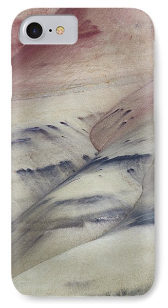Painted Hills Textures 2 IPhone Case by Leland D Howard