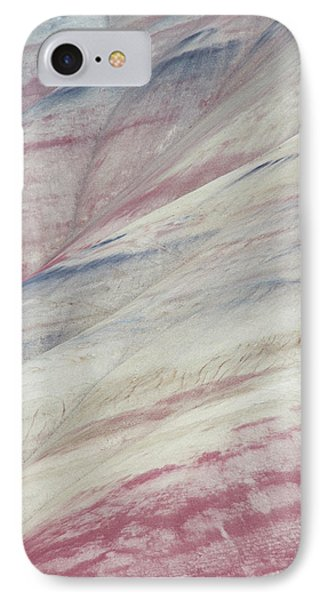 Painted Hills Textures 3 IPhone Case by Leland D Howard