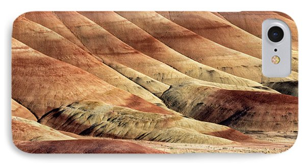Painted Hills Textures Phone Case by Jerry Fornarotto