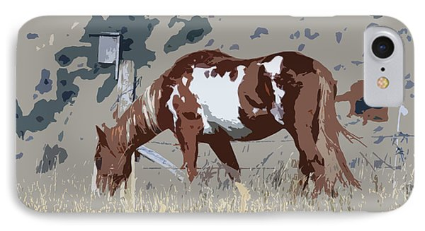 Painted Horse IPhone Case by Steve McKinzie