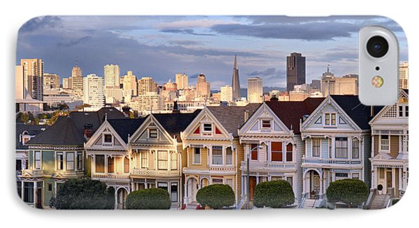Painted Ladies In Sf California IPhone Case by Pierre Leclerc Photography