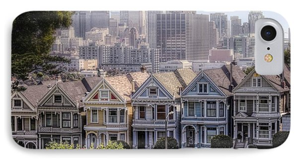 Painted Ladies Of Alamo Square IPhone Case
