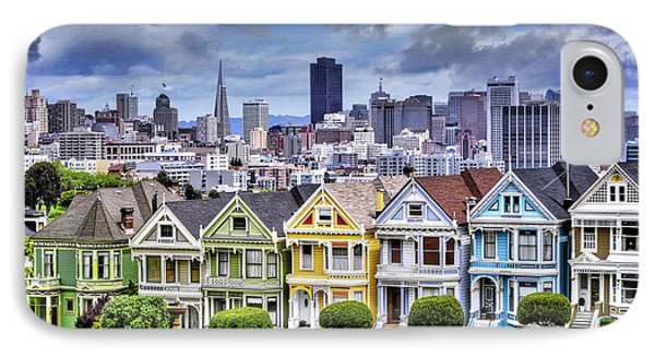 Painted Ladies Of San Francisco  IPhone Case