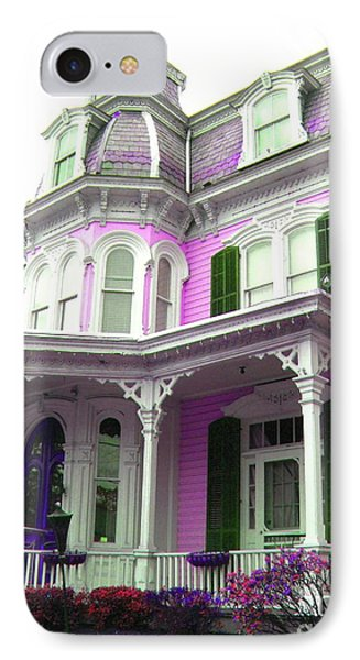 IPhone Case featuring the photograph Painted Lady -  Victorian Age  by Susan Carella