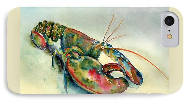 Painted Lobster Phone Case by Amy Kirkpatrick