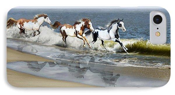 Painted Ocean IPhone Case