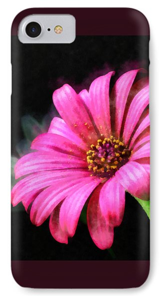 Painted Pink IPhone Case by Elizabeth Coats