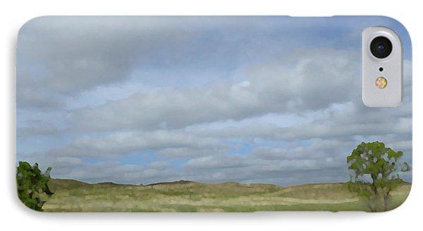 Painted Plains IPhone Case by JoAnn Lense