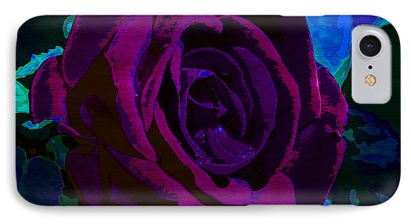 Painted Rose IPhone Case by Samantha Thome