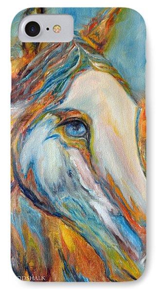 Painted Horse Sensation IPhone Case by Jennifer Godshalk