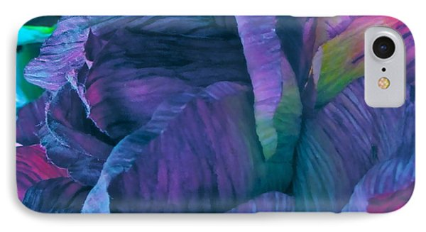 Painted Silk Phone Case by Gwyn Newcombe