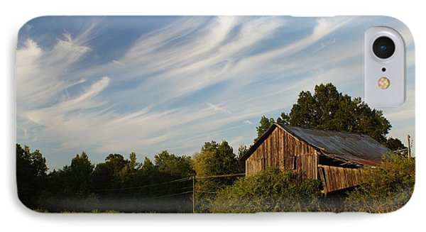 Painted Sky Barn Phone Case by Benanne Stiens