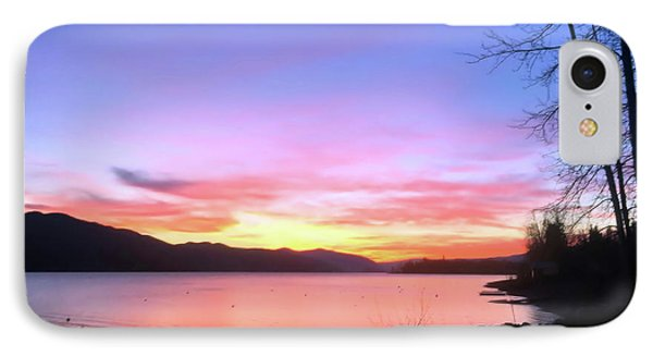 IPhone Case featuring the photograph Painted Sky by Victor K