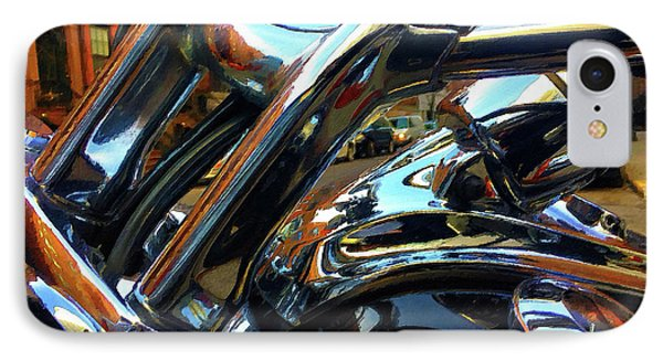 Painting Cold Chrome New York IPhone Case by Tony Rubino