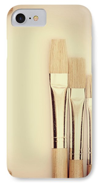 Painting Tools Phone Case by Wim Lanclus