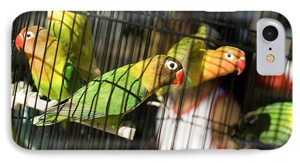 Pair Of Keets Phone Case by Carl Purcell