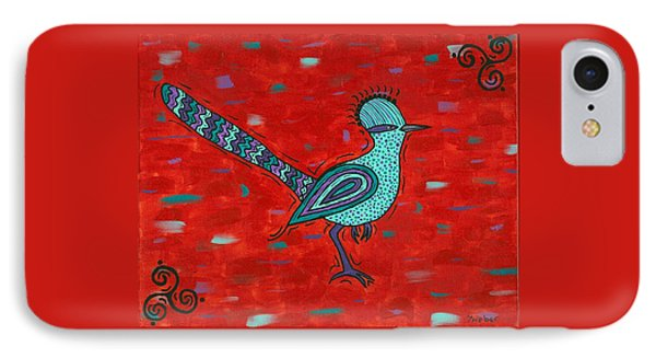 Paisano Petra - Roadrunner IPhone Case by Susie WEBER