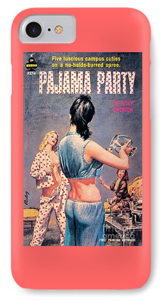 IPhone Case featuring the painting Pajama Party by Paul Rader