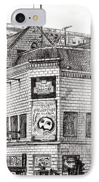 Palace Theater Manchester IPhone Case by Vincent Alexander Booth