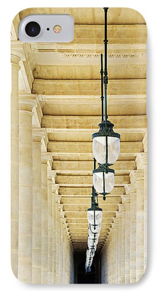 IPhone Case featuring the photograph Palais-royal Arcade - Paris, France by Melanie Alexandra Price