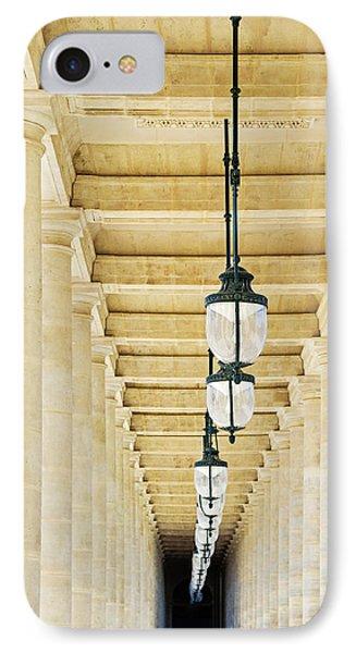 Palais-royal Arcade - Paris, France IPhone Case