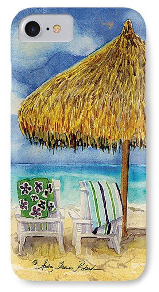 Palappa N Adirondack Chairs On The Mexican Shore IPhone Case