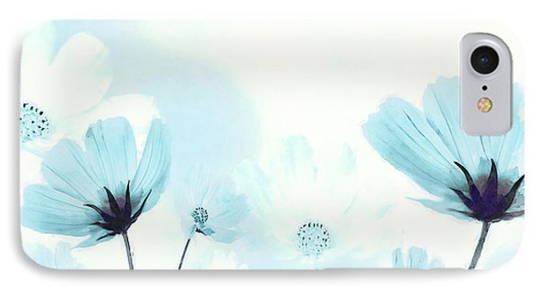 Cosmos Flowers IPhone Case by BONB Creative