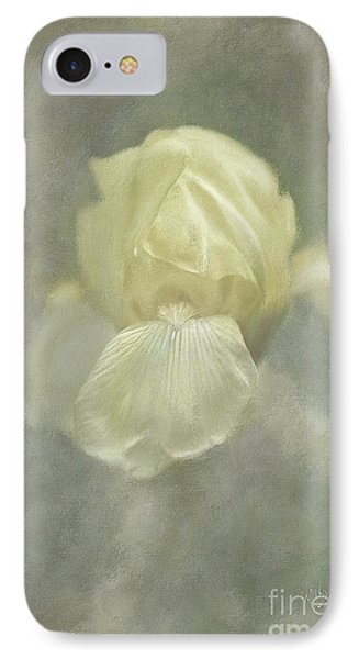 Pale Misty Iris IPhone Case by Lois Bryan