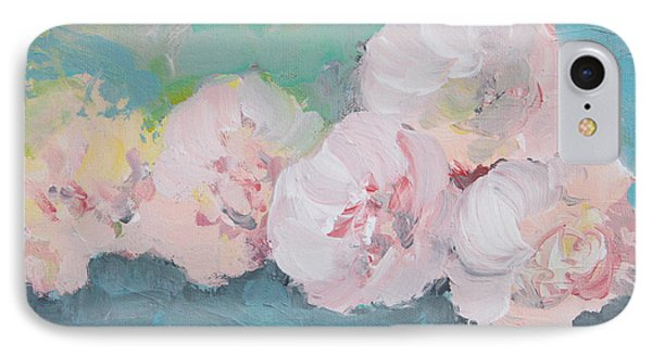 Pale Pink Peonies IPhone Case by Robin Maria Pedrero