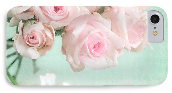 Pale Pink Roses Phone Case by Lyn Randle