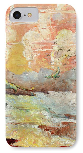 Palette Knife Flight IPhone Case