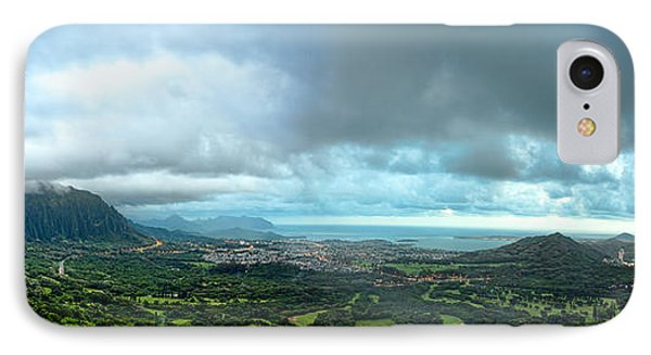 IPhone Case featuring the photograph Pali Lookout Dawn by Dan McManus