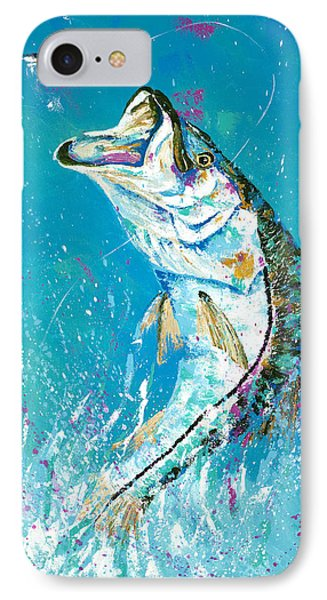 Pallet Knife Jumping Snook IPhone Case
