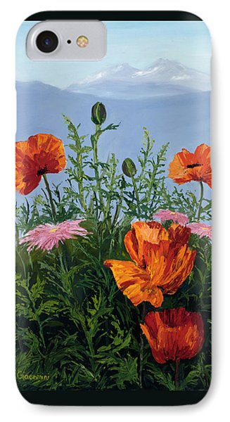 Pallet Knife Poppies IPhone Case