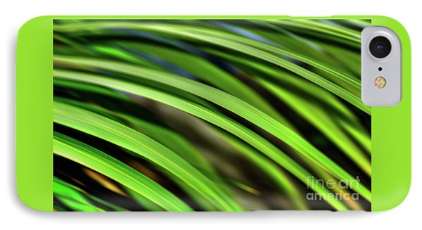 IPhone Case featuring the photograph Palm Abstract By Kaye Menner by Kaye Menner