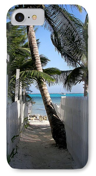 Palm Alley Phone Case by Karen Wiles
