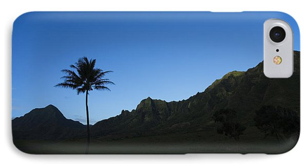 Palm And Blue Sky Phone Case by Dana Edmunds - Printscapes