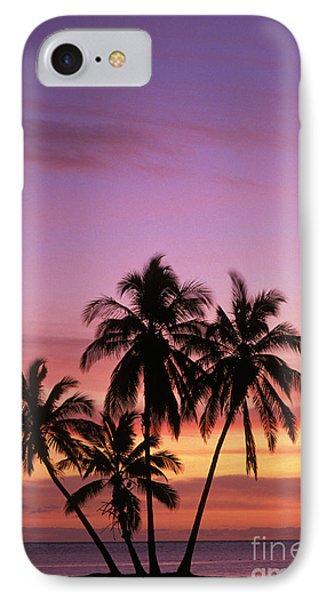 Palm Cluster Phone Case by Allan Seiden - Printscapes
