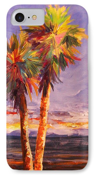 Palm Duo IPhone Case by Anne Marie Brown