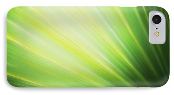 Palm Fronds IPhone Case by Glenn Gemmell