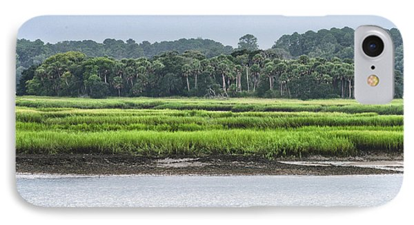 IPhone Case featuring the photograph Palm Island by Margaret Palmer