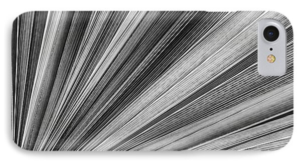 Palm Leaf Texture IPhone Case